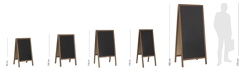 Potykacze drewniane od rozmaru S do rozmiaru XL - WALBA