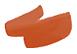 Marker kredowy piszący na pomarańczowo.